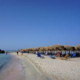 En dag på Elafonissi Beach - den lyserøde strand